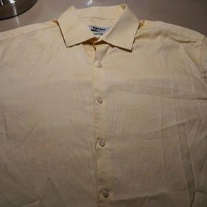 DKNY Button Down Dress Shirt Size 15.5-34/35 Hot!!
